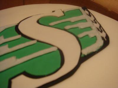 Saskatchewan Roughriders Cake(s) (5/5)