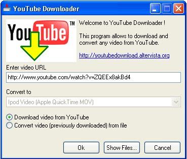 YouTube downloader     GlumChums