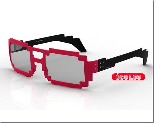 Óculos-Pixels