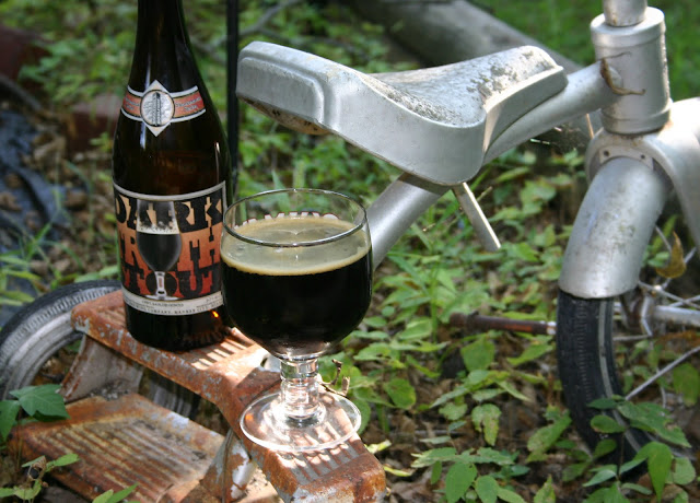 Dark Truth Stout.  On a Tricycle.