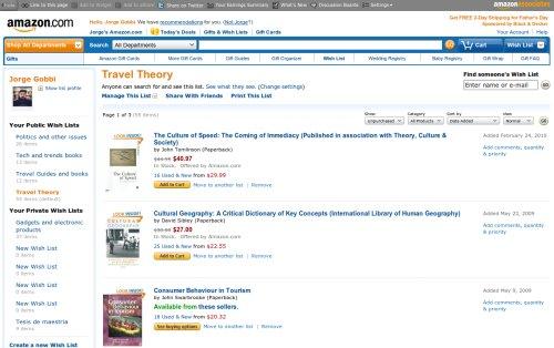 Listas en Amazon
