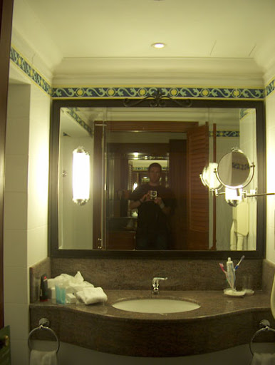 Bathroom in the Maltese Hilton, February 2010