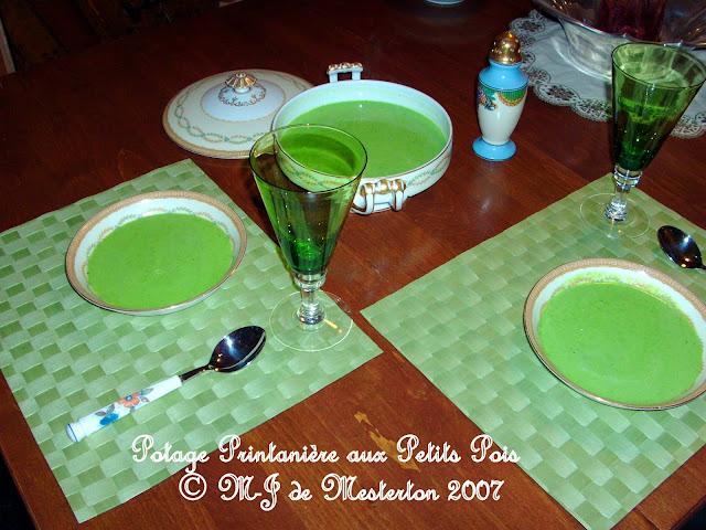 Potage Printanière aux Petits Pois, Copyright 2007