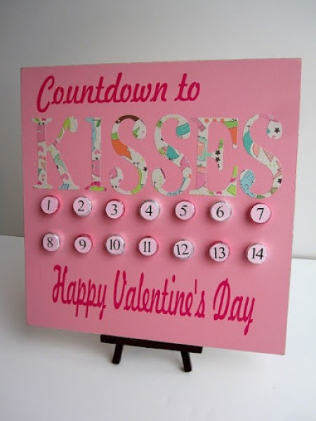 Valentines Day Countdown - Infarrantly Creative
