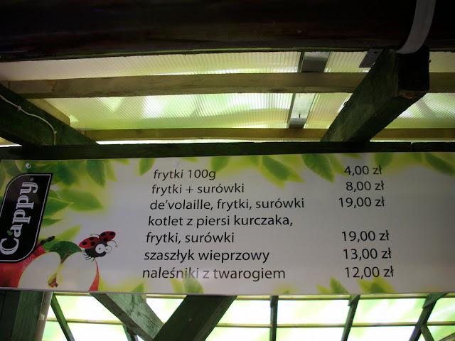 """Propozycje obiadowe w oliwskim zoo - Bar """"Łabędź"""""""
