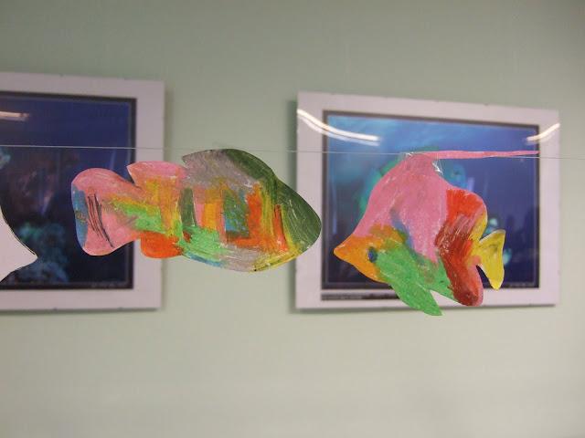 Kolorowe rybki - autor nieznany