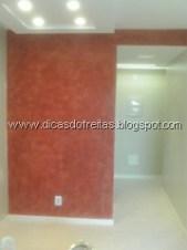 Textura lisa de parede