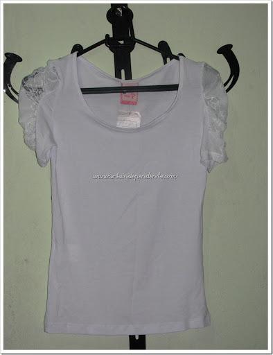 Opção Jeans, Srta Independente, Loja,Blusa Branca, Renda
