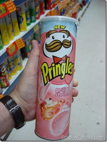 Grilled Shrimp Pringles