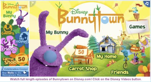 Bunnytown super bunny game