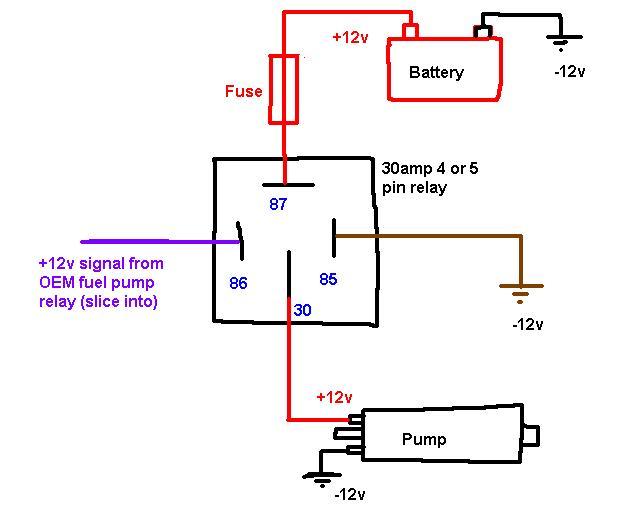 12 volt relay switch diagram 12 volt turn signal diagram