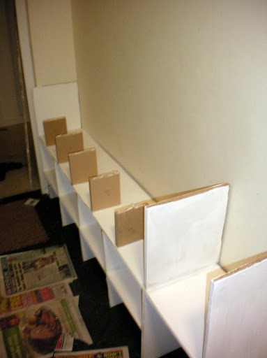 Project Seven: Well Who'd Have Thought it, I Just Made a Shoe Cubby! (5/6)