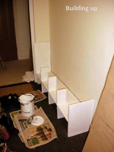 Project Seven: Well Who'd Have Thought it, I Just Made a Shoe Cubby! (4/6)