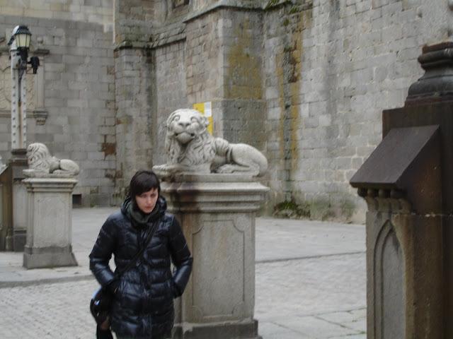 Los leones de la Catedral y Nenuca