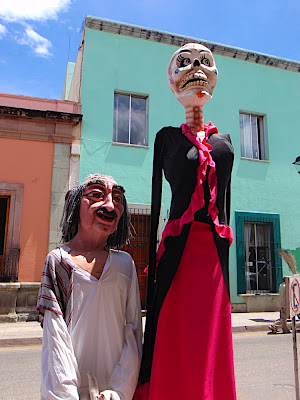 weird but interesting...there are some major holiday celebrations here in Oaxaca, and I have a feeling these come in handy during those times