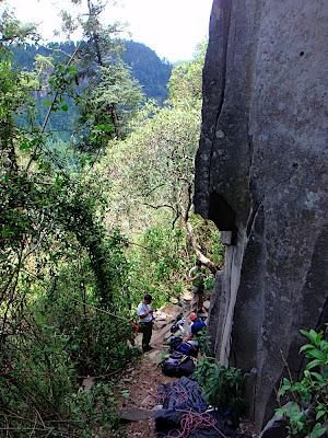 good climbing spot