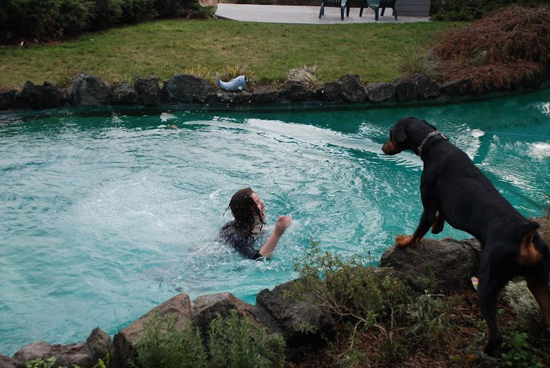 oooh, it DID get ugly...water is freakin coooold