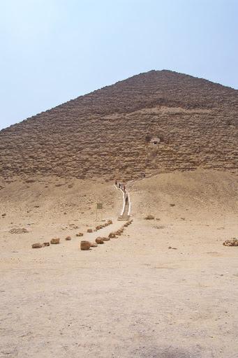 Pirámide roja de Dashur.