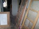 Stripped Main Back Door