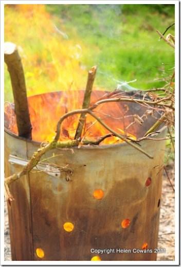 garden fire