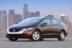 Honda FCX Clarity one of the brand new hybrid cars