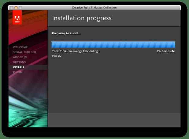 Installing in Progress 1