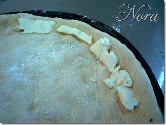 6 Con orilla rellena de queso crema