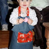 homemade gifts: children's apron