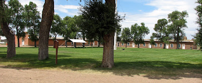 Fort Garland grounds