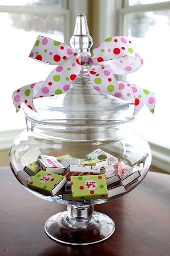 advent calendar jar