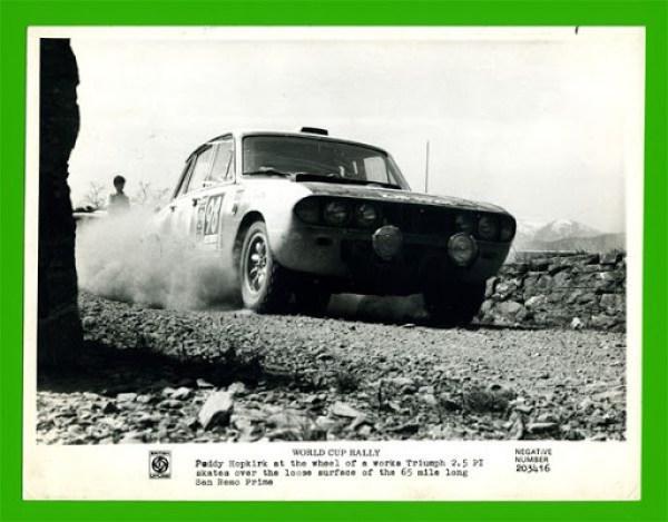 Paddy Hopkirk's Triumph 2.5 PI in South America