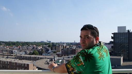 Vista desde el balcón del Hotel Bilderberg de La Haya