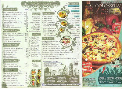 Pizza Colosseum Bucuresti