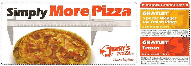 Pliant Jerry's Pizza - noiembrie 2010