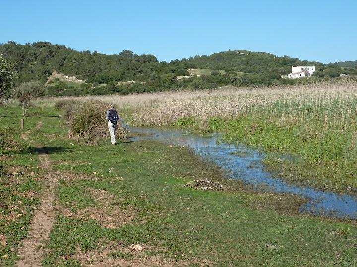 Prat de Son Bou Cami de Cavalls GR 223 Menorca