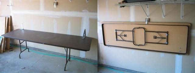 Folding Workbench