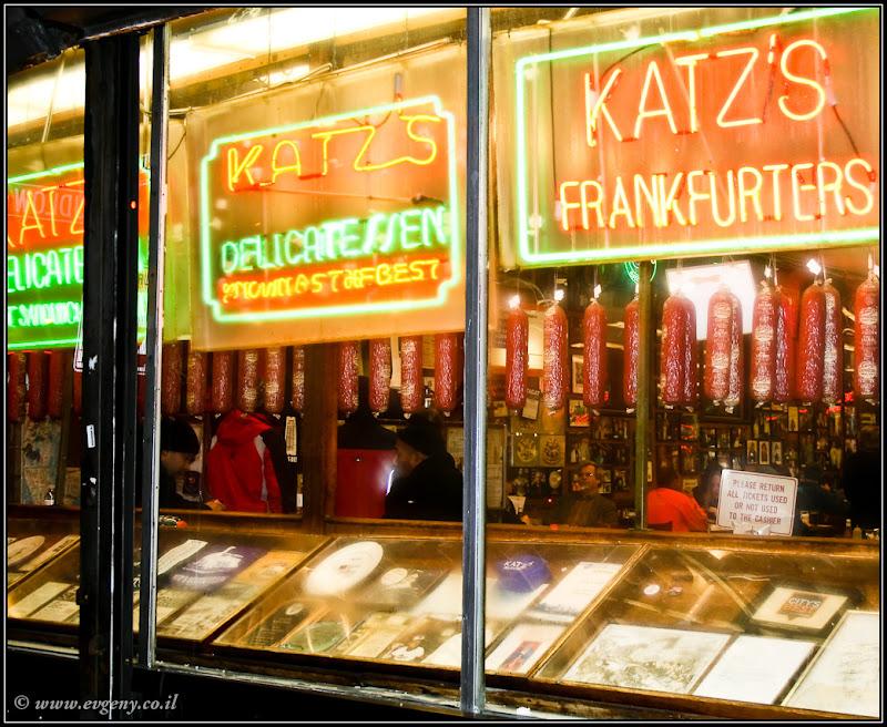 Вид на Америку: Katz's Delicatessen