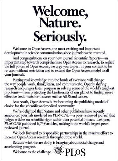Welcome Nature. Seriously.