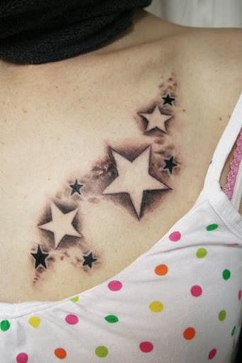 Girl Star Tattoos