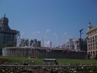 Plaza Catalunya Barcelona Spain