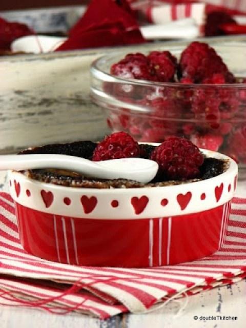 Čokoladni crème brûlèe