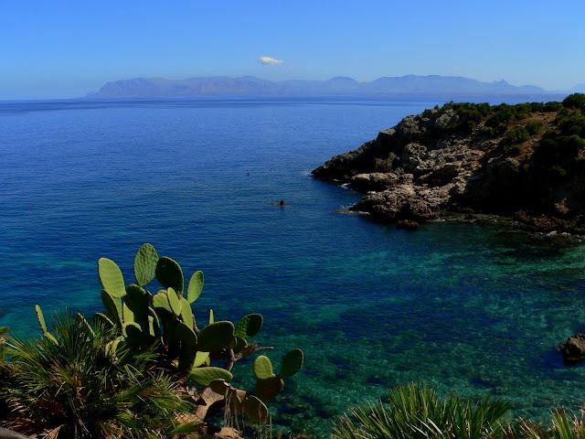 Im Naturpark lo Zingaro am Golf von Castellammare
