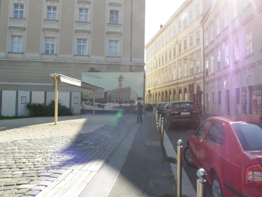 Demszky Gábor,  Városháza,  falfirka, Főpolgármesteri Hivatal, street art, belváros,  V. kerület