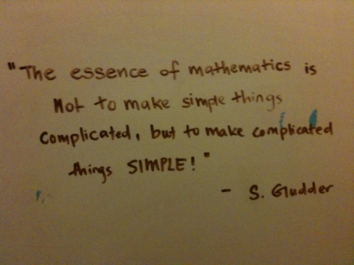 the essence of mathematics