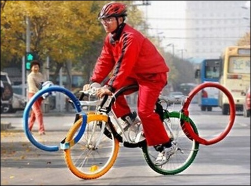 Olympic Rings Bicycle