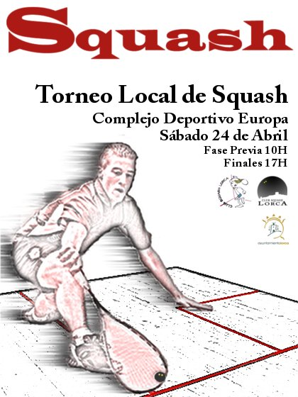 Squash Lorca 24 Abril