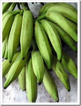 raw banana