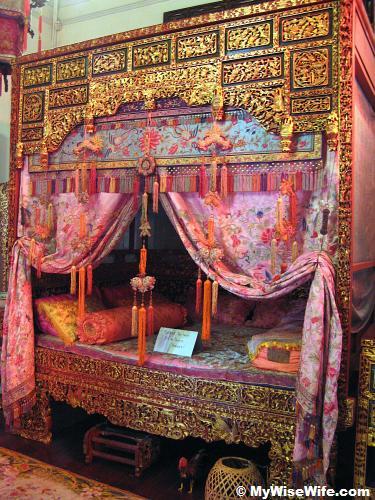 Peranakan bridal room