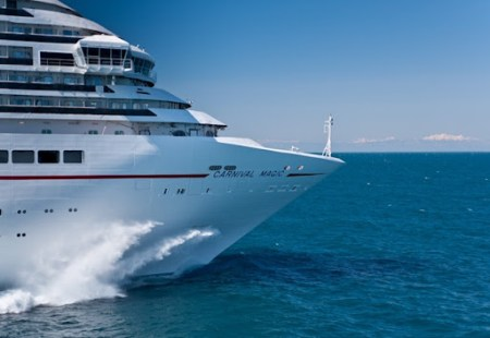 Carnival Magic Sea Trial Photos Official Cruiseind