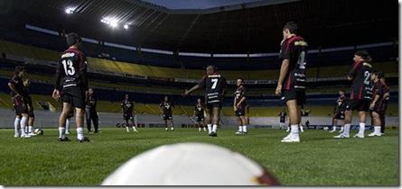 en la ciudad de Guadalajara previo al compromiso de Copa Libertadores entre Chivas de Guadalajara y Caracas FC (Nelson Pulido)